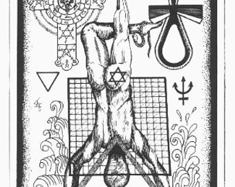 Occult Tarot Poster