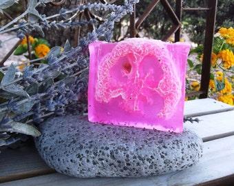 Rose Loofah Soap