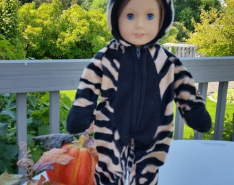 Trick or Treat Handmade Halloween Costume that fits 18 inch dolls