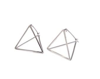 Marbelle handmade geometric earrings
