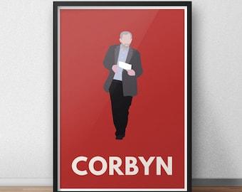 Jeremy Corbyn Print