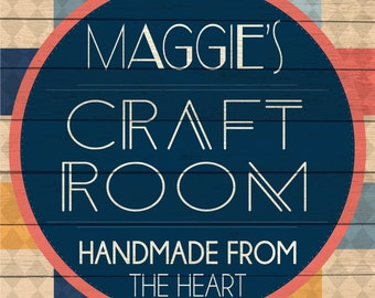 Custom Craft Room Sign Digital Download