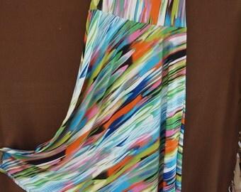 Super Swishy, Psychedelic Skirt/tube dress