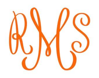 Monogram Font Svg, Fancy Monogram - svg letters - svg alphabet svg, eps, dxf