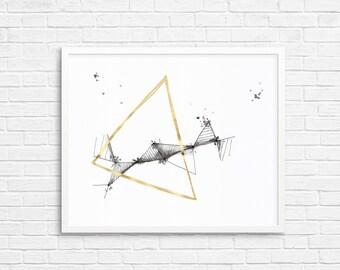 Abstract Art - Original Drawing