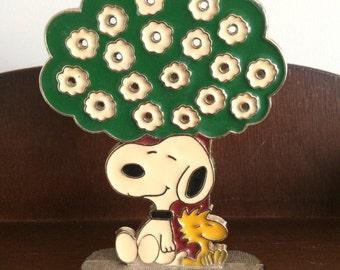 Snoopy/Woodstock earring tree