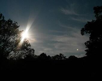 Sunset photo, nature photography, night sky photo,