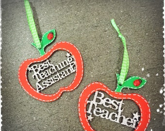 Hanging Teacher Apples