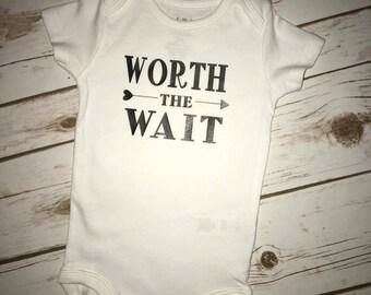 Worth the Wait, Baby onesie