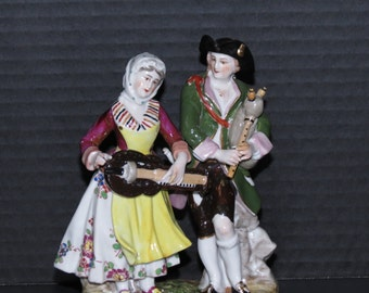 ON SALE! Aelteste Volkstedter Porzellanmanufaktur Musicians Figurine