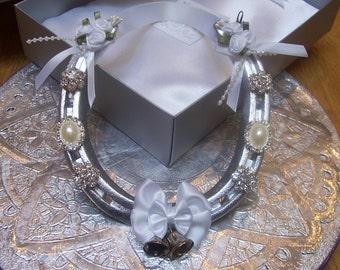 Lucky Wedding Horseshoe Bridal Gift for Happy Couple
