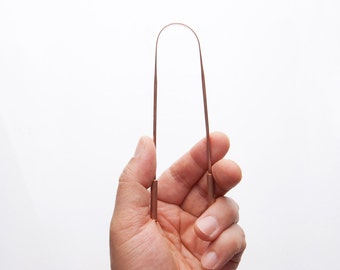 Pure Copper Tongue Scraper