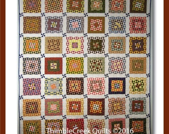 Towne Square   #1504 by ThimbleCreek Quilts