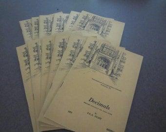 International Correspondence Schools, vintage math book, 1940s math