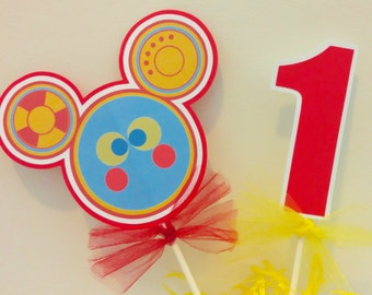 Mickey Mouse Clubhouse Toodles Centerpiece