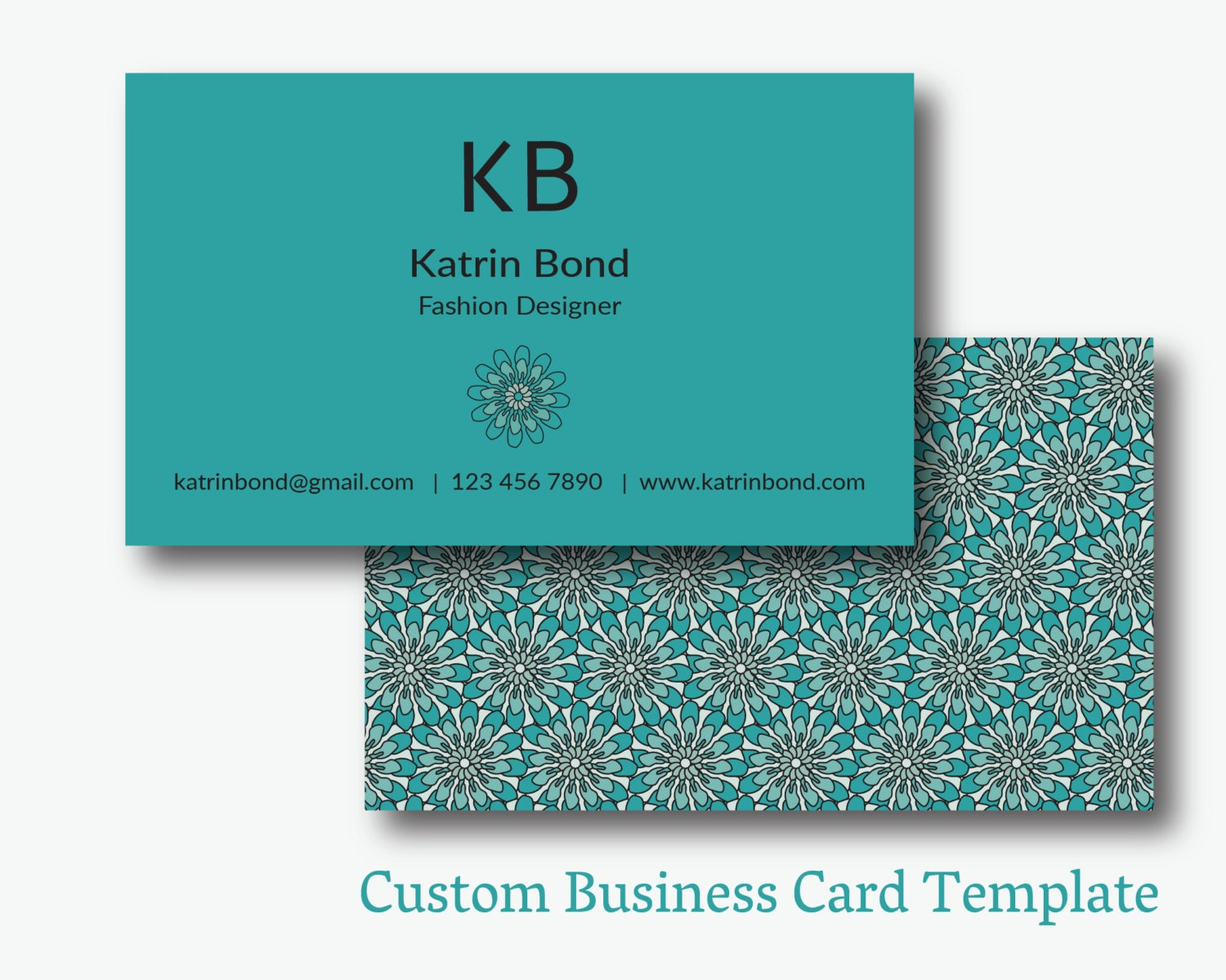 Business Card Template Calling Cards Custom Business Cards