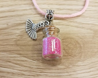10 Ballet Powder Necklaces party favors