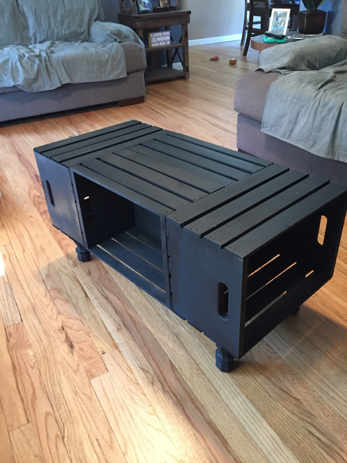11 DIY Wooden Crate Coffee Table Ideas |Wooden Crate Coffee Table