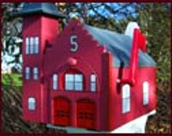 Firehouse Mailbox