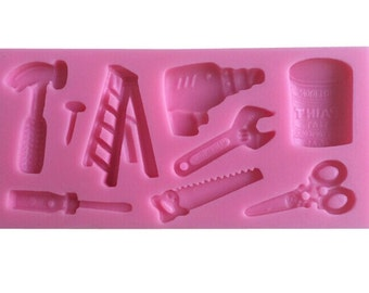 Shear Electric Drill Hammer Tools Silicone Mould