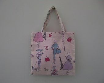 Small girls tote bag