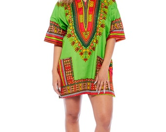 AFRICAN DASHIKI DRESS tunic top