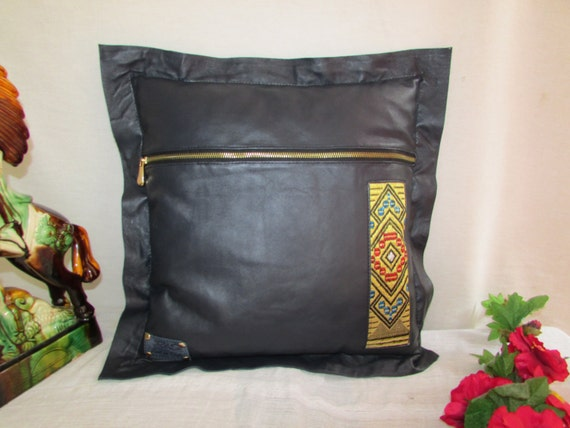 leather pillow cover, Pillow covers 40x40, Colorful pillow cover, Couch pillow cover, Office pillow, Bed pillow cover, Soft pillow cover