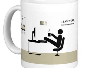 Teamwork Not For Everyone Mug