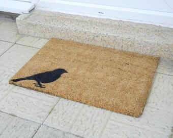 Quirky Bird doormat - 60x40cm