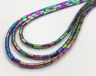 5*3mm Hematite Beads,Cylinder Beads,Hematite Beads,Hematite Jewelry