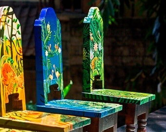 Hand Painted Childrens Chairs