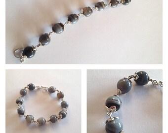 Spencer Silver Bracelet