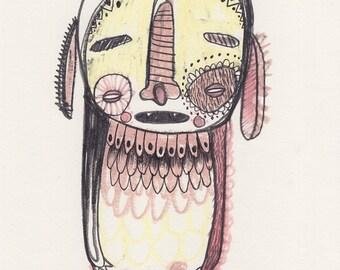 Original Monster Artwork 05