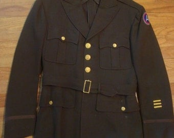 WWII U.S. ARMY Officers blouse/tunic 38R