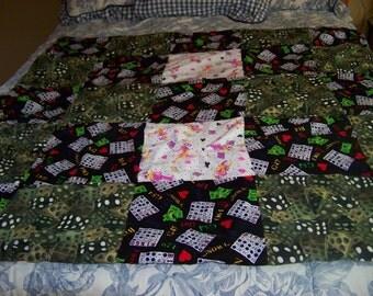 Vegas Delight Lap-Sized Blanket