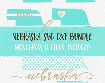 Nebraska Svg Svg Fonts Svg Monogram Frames Cricut svg Silhouette svg designs png dxf jpg svg bundle cutting files mermaid pattern svg files