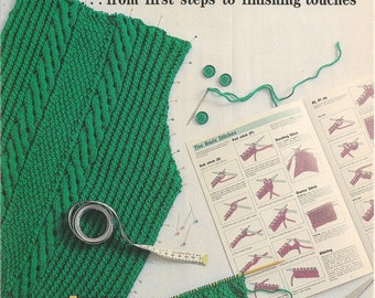 Patons Woolcraft - Basic Guide to Knitting and Crochet Stitches