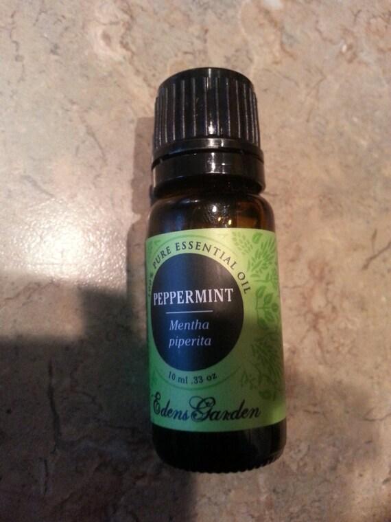 Edens Garden Peppermint 100 Pure Essential Oil 10 Ml From 2ndclasselegance On Etsy Studio
