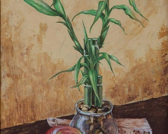 Still life with bamboos