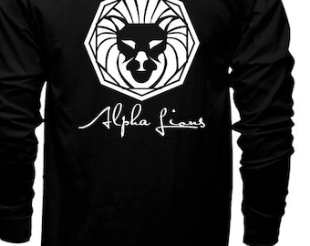 The Alpha Collection Back to Black Long Sleeve Tee