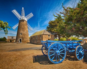 Callington Mill Tasmania Photograph