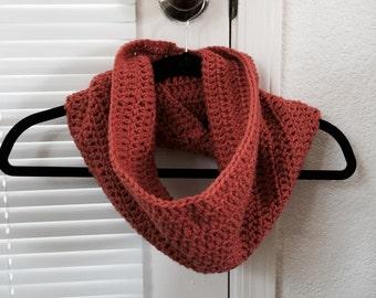 Warm Crochet  Cowl