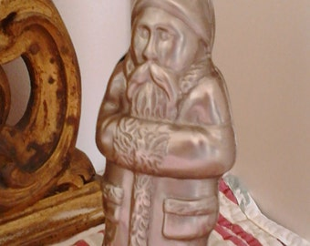 Mold Mould for pastry/chocolate Santa St Claus vintage metal