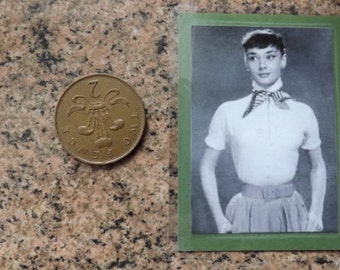 Fridge Magnet. Audrey Hepburn. The Icon Series