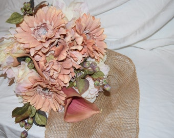 Blushing Bride's Maid Bouquet