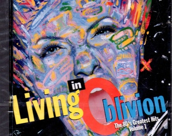 Living In Oblivion: The 80's Greatest Hits Vol 1 CD Sealed NEW 18 Songs BMG - 1993.