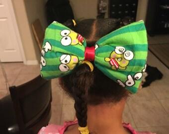 Keroppi Hair Bow