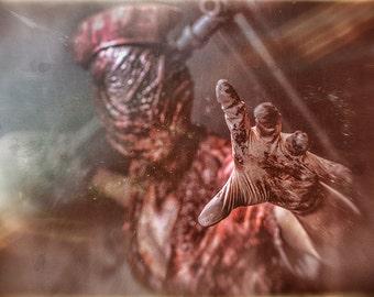 Silent Hill - Nurse Grab print or poster