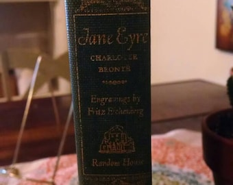 Jane Eyre by Charlotte Bronte- 1943 edition