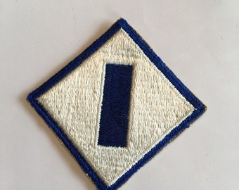 Vintage WWII Army Patch 1st Service Command